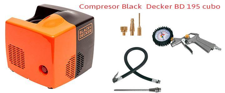 Compresor Black & Decker BD 195 cubo