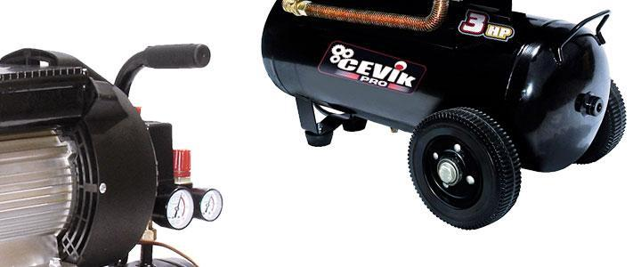 Opiniones sobre el compresor Cevik pro50vx, precio y características
