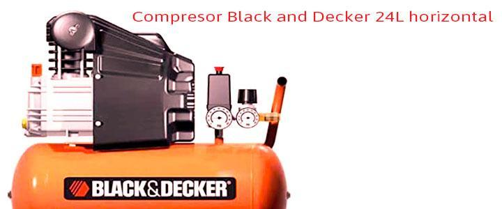 Compresor black&decker 24l