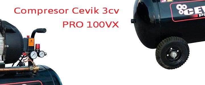 Compresor Cevik 3cv 100 litros