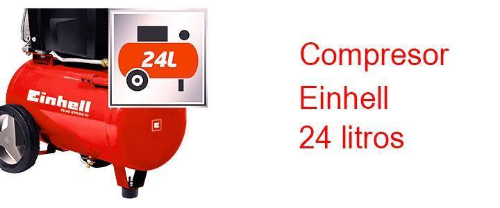 Compresor Einhell 24 litros