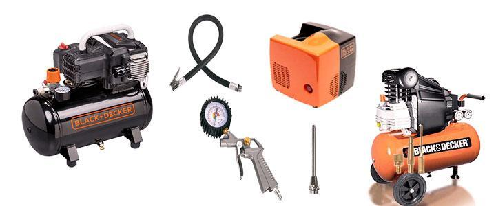 Compresores de aire Black and Decker